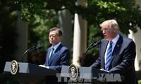 สหรัฐและสาธารณรัฐเกาหลีให้คำมั่นที่จะผลักดันความสัมพันธ์พันธมิตร