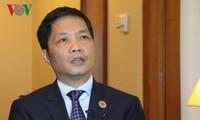 เวียดนามและตุรกีพยายามเพิ่มมูลค่าการส่งออกขึ้นเป็น4พันล้านดอลลาร์สหรัฐในปี2020
