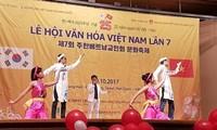 งานวัฒนธรรมเวียดนามในสาธารณรัฐเกาหลีมีส่วนร่วมเชื่อมโยงชุมชน