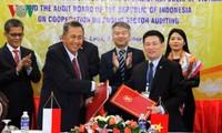 ผลักดันความร่วมมือระหว่างสำนักงานตรวจเงินแผ่นดินเวียดนามกับอินโดนีเซีย