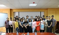 สมาคมนักข่าวเวียดนามและสมาคมนักข่าวนักหนังสือพิมพ์แห่งประเทศไทยขยายความร่วมมือในด้านการฝึกอบรมภาษา