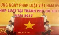 วันกฎหมายเวียดนามมีส่วนร่วมสร้างสรรค์รัฐบาลที่บริสุทธิ์ ปฏิบัติและรับใช้ประชาชนและประเทศ