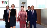 ประธานสภาแห่งชาติเวียดนามพบปะกับรัฐมนตรีต่างประเทศออสเตรเลีย
