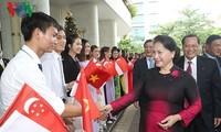 ประธานสภาแห่งชาติเวียดนามเสร็จสิ้นการเยือนสิงคโปร์และออสเตรเลีย