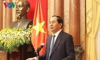 ความสัมพันธ์หุ้นส่วนยุทธศาสตร์อย่างกว้างลึกระหว่างเวียดนามกับญี่ปุ่นกำลังได้รับการพัฒนาอย่างเข้มแข็ง