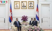 รัฐมนตรีว่าการกระทรวงรักษาความมั่นคงภายในเวียดนามเยือนกัมพูชา