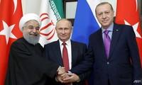 ผู้นำรัสเซีย ตุรกีและอิหร่านวางแผนการประชุมระดับสูงเกี่ยวกับซีเรีย