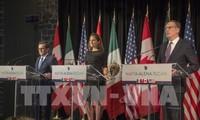การเจรจาใหม่เกี่ยวกับNAFTAบรรลุความคืบหน้า