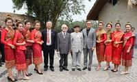 การพบปะสังสรรค์มิตรภาพเวียดนาม-ลาว