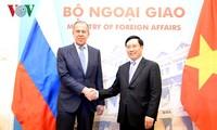 เสริมสร้างความสัมพันธ์หุ้นส่วนยุทธสาสตร์ในทุกด้านระหว่างเวียดนามกับรัสเซีย