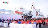 กิจกรรมขบวนการเยาวชนเพื่อทะเลและเกาะแก่งของปิตุภูมิปี2018