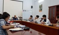 ชั้นเรียนเกี่ยวกับการเป็นล่ามให้แก่นักศึกษาลาวในสถาบันการทูตฮานอย