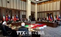 รัฐมนตรีต่างประเทศตุรกี รัสเซียและอิหร่านจะพบปะกันเพื่อหารือเกี่ยวกับสถานการณ์ซีเรีย