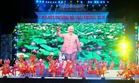 นายกรัฐมนตรีเวียดนามเข้าร่วมพิธีเปิดงานเทศกาลดอกหางนกยูงปี2018