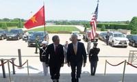 ก้าวพัฒนาใหม่ของความร่วมมือด้านความมั่นคงและกลาโหมระหว่างเวียดนามกับสหรัฐ