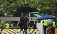 สิงคโปร์เพิ่มความเข้มงวดในการรักษาความปลอดภัยเพื่อเตรียมให้แก่การพบปะสุดยอดระหว่างสหรัฐกับเปียงยาง