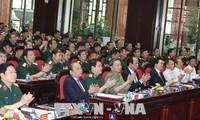 ยกระดับคุณภาพและพลังแห่งการต่อสู้ของกองทัพประชาชนเวียดนาม