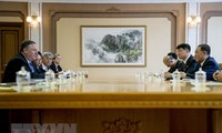 รัฐมนตรีต่างประเทศสหรัฐยืนยันว่า การสนทนากับเปียงยางบรรลุความคืบหน้า