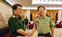 ผลักดันความร่วมมือด้านกลาโหมระหว่างเวียดนามกับจีน