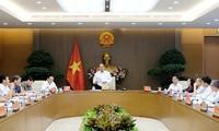 นายกรัฐมนตรีเวียดนามเป็นประธานในการประชุมเกี่ยวกับยุทธศาสตร์ทางทะเล