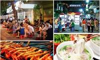 ค้นคว้าวัฒนธรรมอาหารฮานอยในยามค่ำคืน
