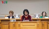 เวียดนามเรียกร้องให้สตรีโลกขยายความร่วมมือระหว่างประเทศ มีส่วนร่วมปฏิบัติเป้าหมายการพัฒนาอย่างยั่งยืน