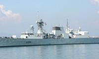 กองเรือของกองทัพเรือแคนาดาเยือนนครดานัง