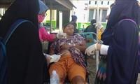อินโดนีเซียส่งหน่วยกู้ภัยลงพื้นที่หลังเกิดเหตุแผ่นดินไหวและคลื่นสึนามิในจังหวัด Sulawesi กลาง
