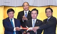 สายการบินเวียดเจ็ทแอร์เปิดเส้นทางบินตรง3สายระหว่างเวียดนามกับญี่ปุ่น