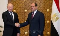 อียิปต์และรัสเซียกลายเป็นหุ้นส่วนในทุกด้าน