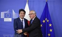 อียูและญี่ปุ่นตั้งใจเสร็จสิ้นการจัดทำข้อตกลงการค้าเสรี