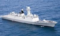 อาเซียนและจีนจัดการฝึกซ้อมทหารเรือร่วมครั้งแรกในทะเลตะวันออก
