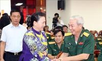 ประธานสภาแห่งชาติเวียดนามเข้าร่วมพิธีรำลึกครบรอบ44ปีวันปลดปล่อยนครเกิ่นเทอ
