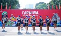 งานเทศกาลคาร์นิวัลบนท้องถนนฮานอย