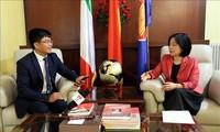ความสัมพันธ์ระหว่างเวียดนามกับอิตาลีกำลังได้รับการพัฒนา