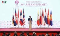 ไทยแถลงข่าวต่อสื่อมวลชนเกี่ยวกับผลการประชุมผู้นำอาเซียนครั้งที่ 34