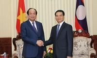 ผลักดันความร่วมมือระหว่างสำนักรัฐบาลเวียดนามและลาว