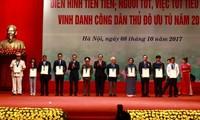Hanoi honors outstanding residents