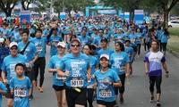 Over 8,000 athletes attend HCM City Marathon 2018