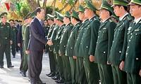 President Tran Dai Quang pays pre-Tet visit to Gia Lai