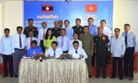 Vietnamese, Lao localities enhance cooperation