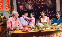 Year-end party in Vietnamese families