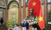President lauds external economic activities abroad