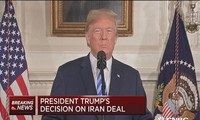 World leaders react to US withdrawal from Iranian nuclear deal