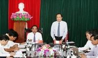 VFF President Tran Thanh Man visits Tuyen Quang