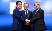 EU- Japan FTA opposes trade protectionism