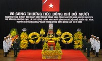 State funeral held for former Party General Secretary Do Muoi
