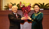Foreign leaders congratulate President Nguyen Phu Trong