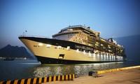 Ha Long International Passenger Port receives first 5-star cruise