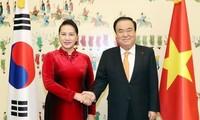NA Chairwoman Nguyen Thi Kim Ngan concludes RoK visit